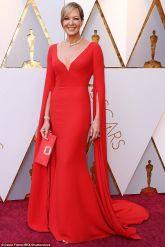 Oscar 2018 Allison Janney veste Reem Acra @ David Fisher - REX - Shutterstock