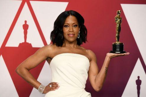 Oscar 2019 Regina King veste Oscar de la Renta @ Getty