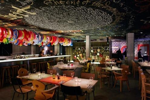 Philippe Starck assina bar e restaurante Mama Shelter em Bordeaux @ Divulgação