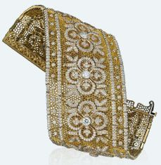 Bucellati - Bracelete rendado Ducalle @ Reprodução