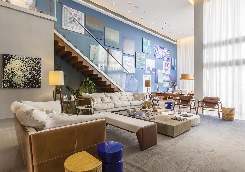 Mondo moda destaca alguns ambientes na casa cor campinas for Casa living