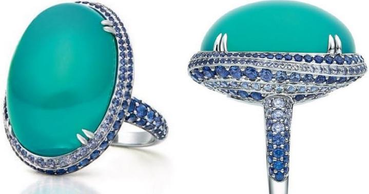 Tiffany & Co - Anel da Coleção The Art of the Sea @ Reprodução