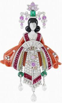 Van Cleef & Arpels - Broche da Coleção Lucky @ Reprodução