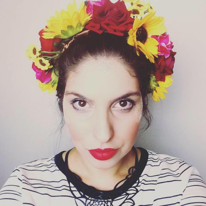 Selfie Julia Magalhães @ Facebook