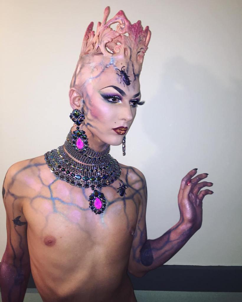 Violet Chachki veste House of Canney no Gran Finale do Rupaul Drag Race Season 8 @ divulgação