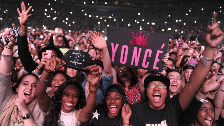 Fãs da Beyonce @ Reprodução
