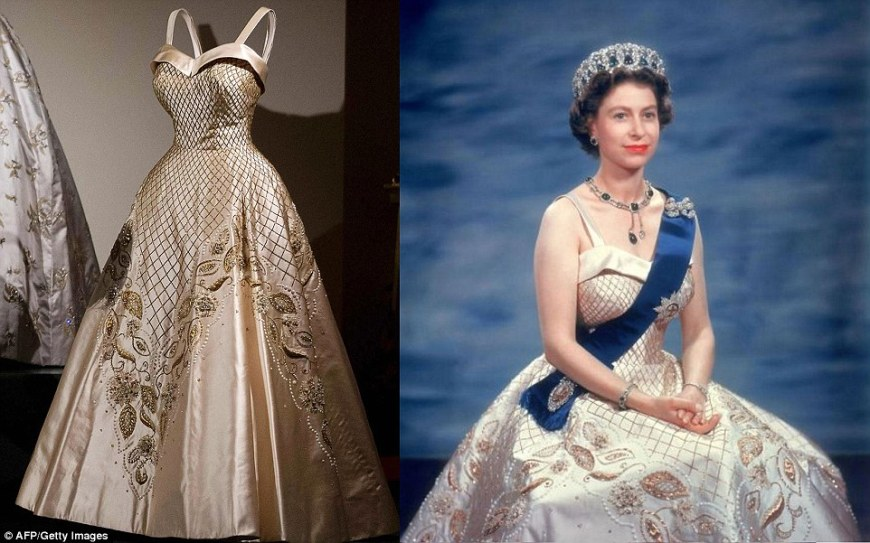Exposição vestidos Rainha Elizabeth @ Royal Collection Trust Her Majesty Queen Elizabeth (4)