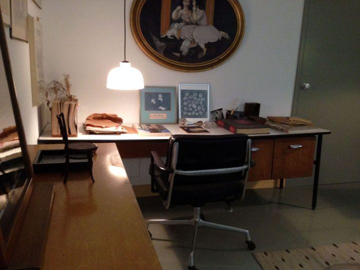 Escritório Charles & Ray Eames na Vitra Schaudepot @ Ana Paula Barros