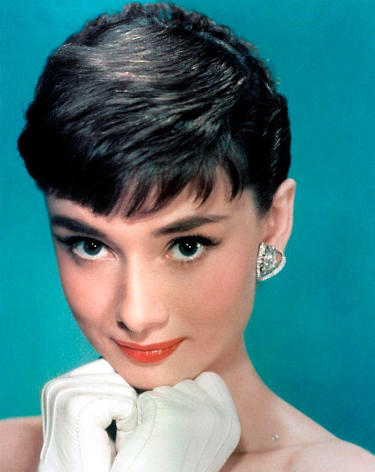 Audrey Hepburn, 1954, Pixie Cut no filme Sabrina @ Divulgação