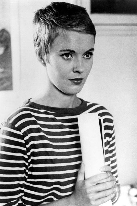 Jean Seberg, 1960, Pixie Cut @ Raymond Cauchetier