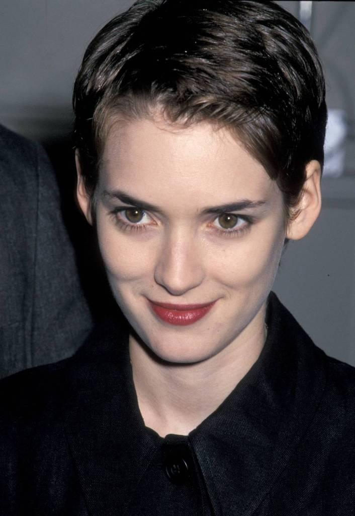 Winona Ryder, 1990, Pixie Cut @ Getty