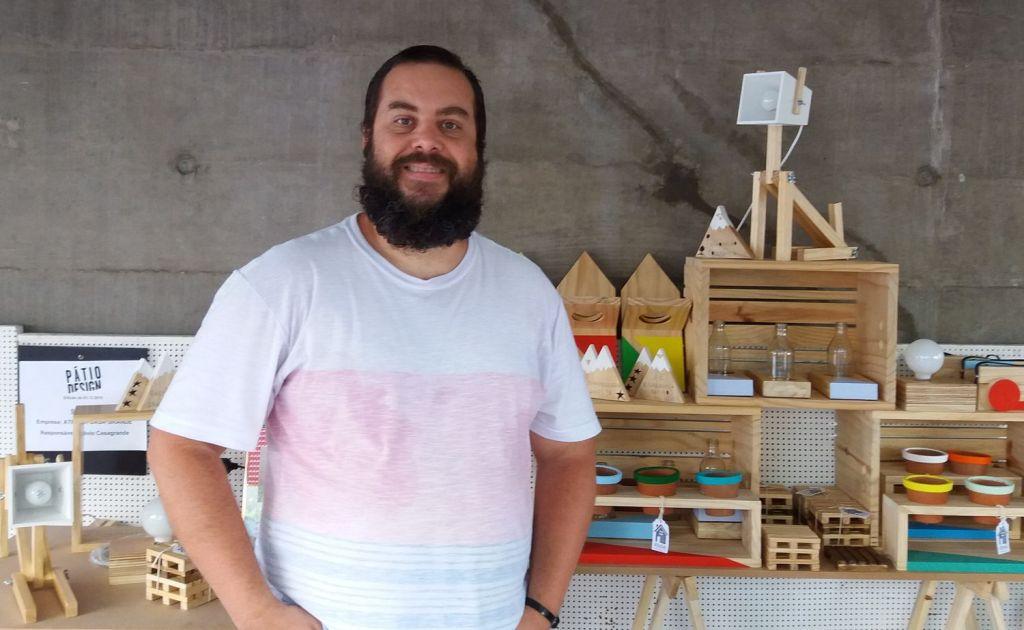 Flávio Casagrande na Pátio Design, em São Paulo @ MONDO MODA