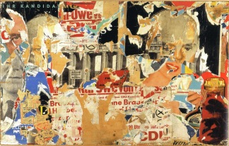 assemblage-o-candidato-de-wolf-vostell-1961-reproducao