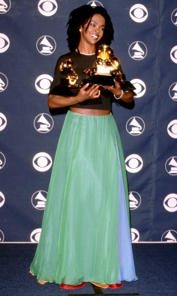 Grammy 1999 Lauryn Hill veste Giorgio Armani @ Jim Smeal/WireImage