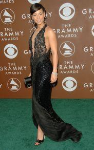 Grammy 2006 Alicia Keys veste Giorgio Armani Privé @ Getty