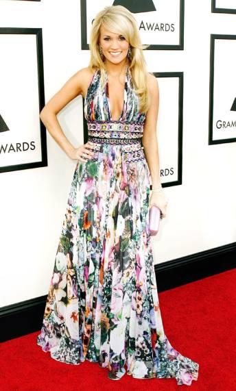 Grammy 2008 Carrie Underwood veste Zuhair Murad @ Getty