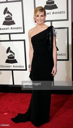 Grammy 2008 Faith Hill veste Valentino @Francis Specker/Bloomberg News
