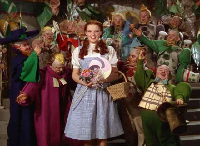 Judy Garland em 'O Mágico de Oz' @ Reprodução