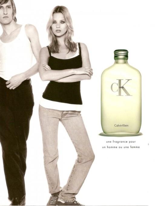 Kate Moss na campanha ck da Calvin Klein @ Divulgação