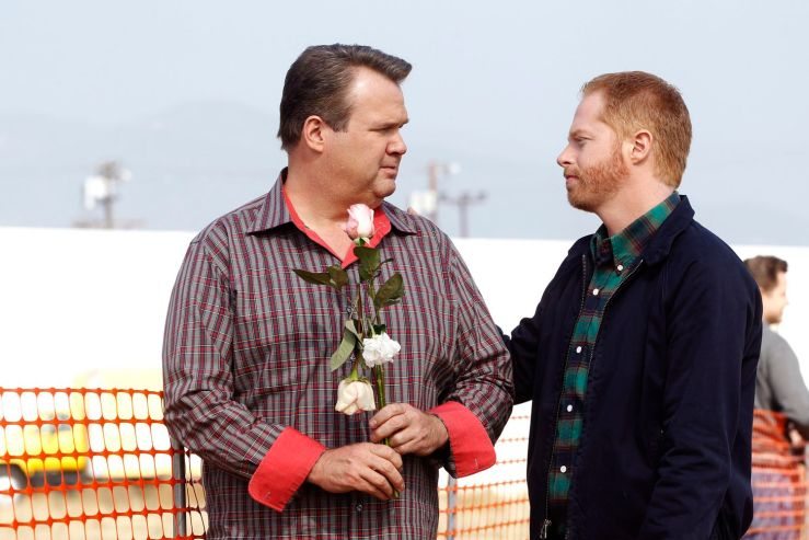 "Casal gay de Modern Family @ ABC/PETER ""HOPPER"" STONE"