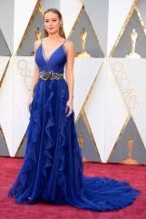Oscar 2016 Brie Larson veste Gucci @ Kevin Mazur/WireImage
