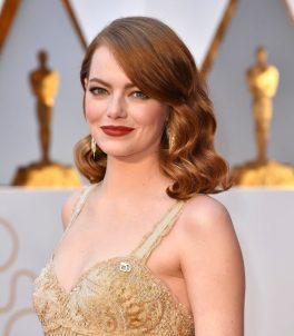 Oscar 2017 Emma Stone veste Givenchy @ Getty