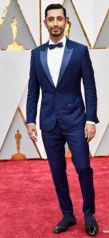 Oscar 2017 Riz Ahmed veste Ermenegildo Zegna Couture @ Getty