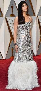 Oscar 2017 Sofia Boutella veste Chanel @ Getty
