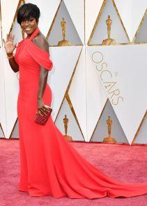 Oscar 2017 Viola Davis veste Armani Privé e joias Niwaka @ Getty