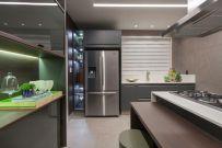 Ambiente Cozinha Eletromec de Mariana Oliveira na Campinas Decor 2017 @ Divulgação