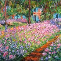 Claude Monet é o mais célebre entre os pintores impressionistas