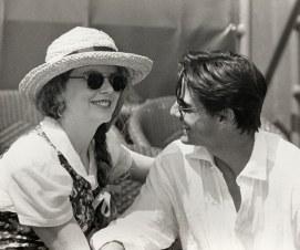 1993 Nicole Kidman e Tom Cruise no U.S. Open @ Ron Galella - Getty Images