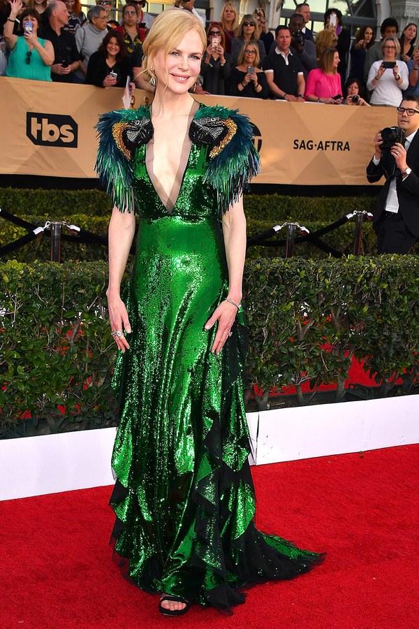 2017 Nicole Kidman SAG Awards @ WireImage