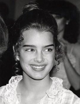 Studio 54 Brooke Shields aos 11 anos na inauguração @ Getty