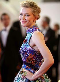 Cannes 2018 Cate Blanchett veste Mary Katrantzou @ Getty