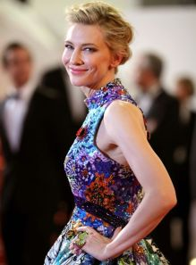 Cannes 2018 Cate Blanchett veste Mary Katrantzou @ Getty