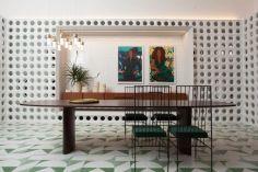 CASACOR SP 2018 Sala de Jantar by Naomi Abe @ Marco Antonio - CASACOR