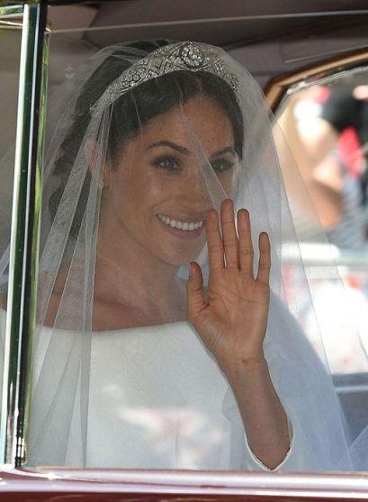 Casamento Meghan Markle - Vestido Givenchy @ Getty (2)
