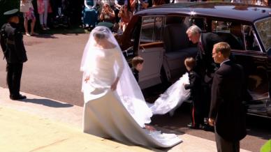 Casamento Meghan Markle - Vestido Givenchy @ YouTube