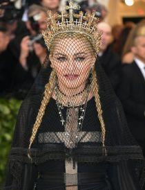 MET Gala 2018 Madonna usa Gaultier Paris Haute Couture @ Getty1
