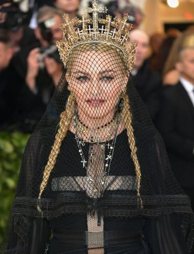 MET Gala 2018 Madonna usa Gaultier Paris Haute Couture @ Getty1