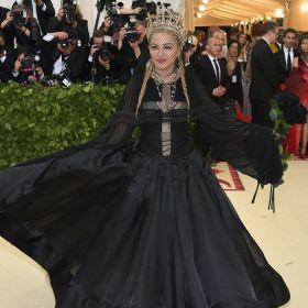 MET Gala 2018 Madonna usa Gaultier Paris Haute Couture @ Getty2
