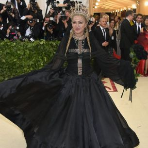 MET Gala 2018 Madonna usa Gaultier Paris Haute Couture @ Getty2