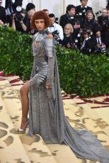 MET Gala 2018 Zendaya usa Versace @ Getty