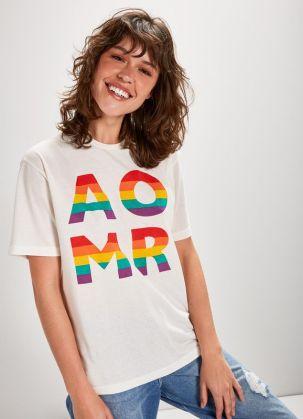 Cantão Camiseta Amor Linha LGBT @ divulgação