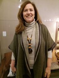 Renata Podolsky usa colar Foi o Jorge Que Fez @ MONDO MODA