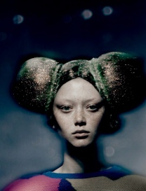 Sara Grace Wallerstedt Dazed Magazine @Paolo Roversi (1)