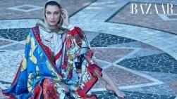 Bella Hadid Harper's Bazaar Outubro 2018 @ Mariano Vivanco (3)