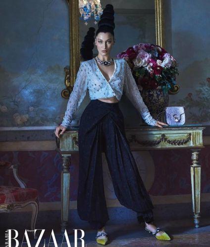 Bella Hadid Harper's Bazaar Outubro 2018 @ Mariano Vivanco (6)
