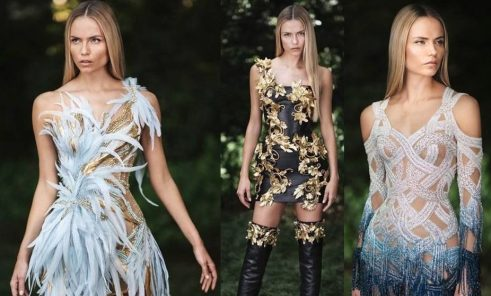 Lookbook Atelier Versace Fall Winter 2019 @ divulgação